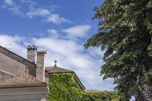 スイス、ジュネーブ近郊、コペの街並みの写真素材 [FYI04114790]