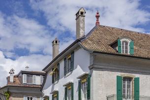スイス、ジュネーブ近郊、コペの街並みの写真素材 [FYI04114791]