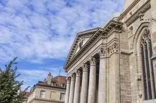 スイス、ジュネーブ旧市街、サン・ピエール大聖堂の写真素材 [FYI04114848]