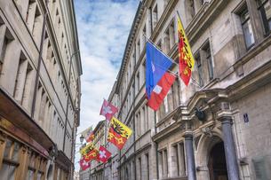 スイス、ジュネーブ旧市街の写真素材 [FYI04114881]
