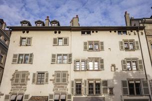 スイス、ジュネーブ旧市街の写真素材 [FYI04114882]