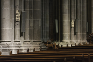 スイス、ジュネーブ旧市街、サン・ピエール大聖堂の写真素材 [FYI04114924]