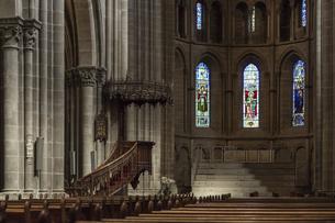 スイス、ジュネーブ旧市街、サン・ピエール大聖堂の写真素材 [FYI04114930]