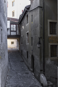 スイス、ジュネーブ旧市街の写真素材 [FYI04114939]