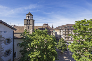 スイス、ジュネーブ旧市街の写真素材 [FYI04114940]