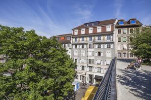 スイス、ジュネーブ旧市街の写真素材 [FYI04114943]