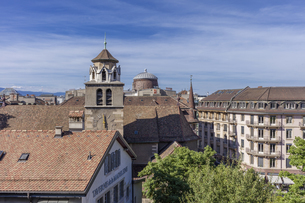 スイス、ジュネーブ旧市街の写真素材 [FYI04114948]
