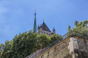 スイス、ジュネーブ旧市街、サン・ピエール大聖堂の写真素材 [FYI04114957]