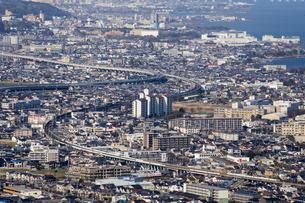 大津市の街並の写真素材 [FYI04114989]