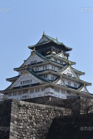 大阪城の写真素材 [FYI04115017]