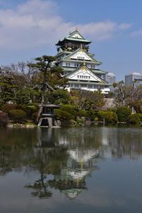 大阪城の写真素材 [FYI04115020]