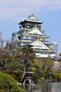 大阪城の写真素材 [FYI04115021]