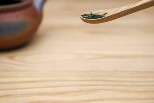 日本茶の写真素材 [FYI04115114]
