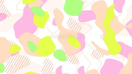 ameba abstract liquid graphic backgroundのイラスト素材 [FYI04115327]