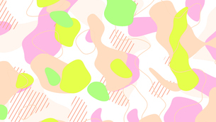 ameba abstract liquid graphic backgroundのイラスト素材 [FYI04115327]