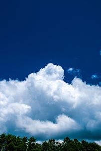 積乱雲の写真素材 [FYI04115497]