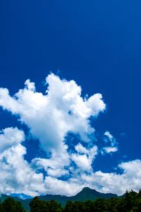 積乱雲の写真素材 [FYI04115500]
