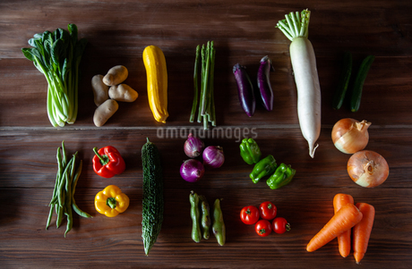 野菜の写真素材 [FYI04115972]