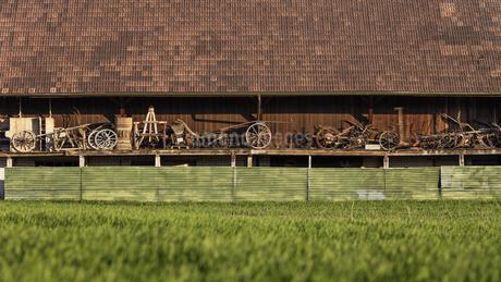 スイス、ジュネーブの田園風景の写真素材 [FYI04115997]