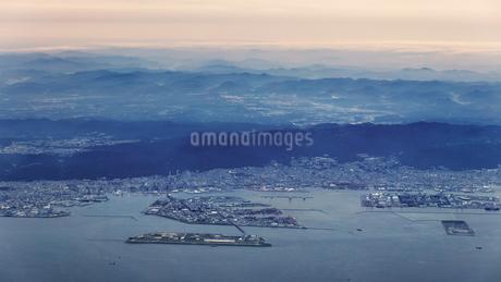 空から見た神戸の写真素材 [FYI04116062]