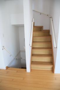 階段の手すりの写真素材 [FYI04116548]