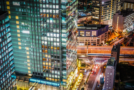 シーサイドトップ(世界貿易センタービルの展望台)からの風景の写真素材 [FYI04116724]