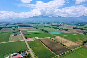 芽室町の空撮の写真素材 [FYI04116817]