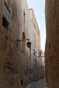 静寂の街イムディーナの写真素材 [FYI04116876]