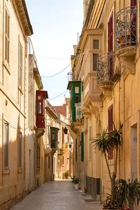 マルタ共和国ラバトの出窓の写真素材 [FYI04116891]