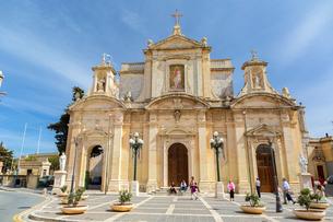 ラバトの聖パウロ教会の写真素材 [FYI04116897]
