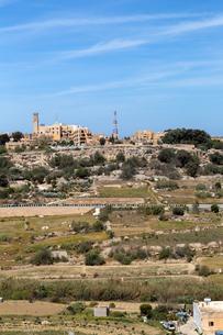 マルタ共和国イムタルファの街の写真素材 [FYI04116942]