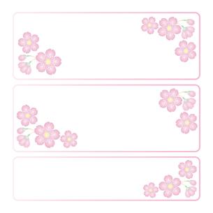 桜の花 イラストのイラスト素材 [FYI04117011]
