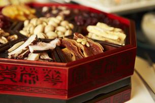韓国の伝統料理の写真素材 [FYI04117178]