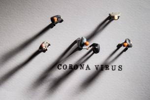 新型コロナウイルスの写真素材 [FYI04117235]