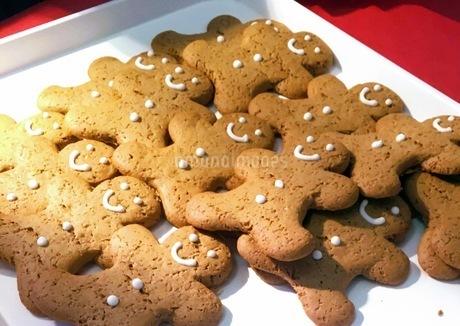 Christmas クリスマスクッキーの写真素材 [FYI04117439]