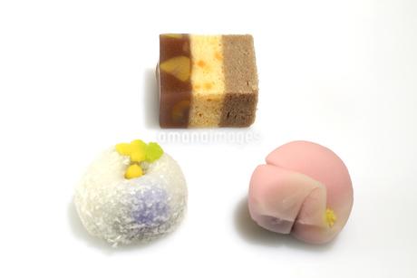 和菓子の写真素材 [FYI04117469]