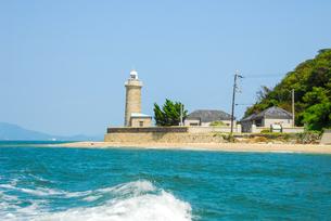 男木島灯台の写真素材 [FYI04117595]
