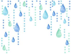 雨粒イラストのイラスト素材 [FYI04117707]