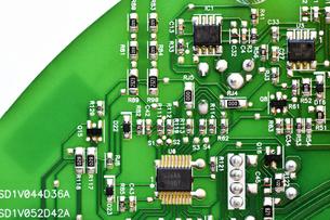 電気製品の基盤の写真素材 [FYI04117842]