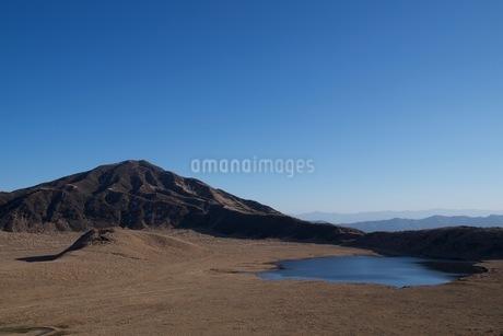阿蘇山の草千里の写真素材 [FYI04117871]
