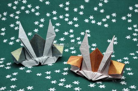 兜の折り紙の写真素材 [FYI04118709]