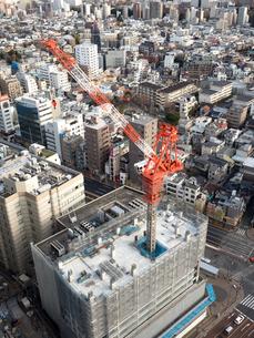 建設中の高層ビルの写真素材 [FYI04119262]