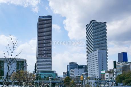 岐阜駅前の風景の写真素材 [FYI04119382]