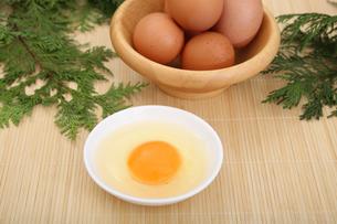 生卵の写真素材 [FYI04120091]
