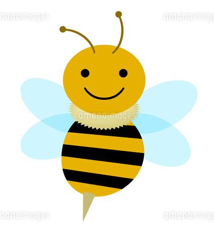 ミツバチのキャラクターのイラスト素材 [FYI04120191]