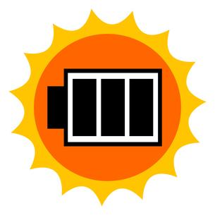 太陽電池のイメージのイラスト素材 [FYI04120192]