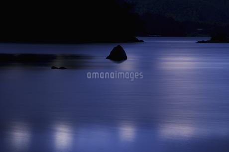 桧原湖の朝の写真素材 [FYI04120241]