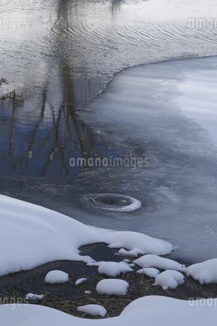 雪と氷の写真素材 [FYI04120259]