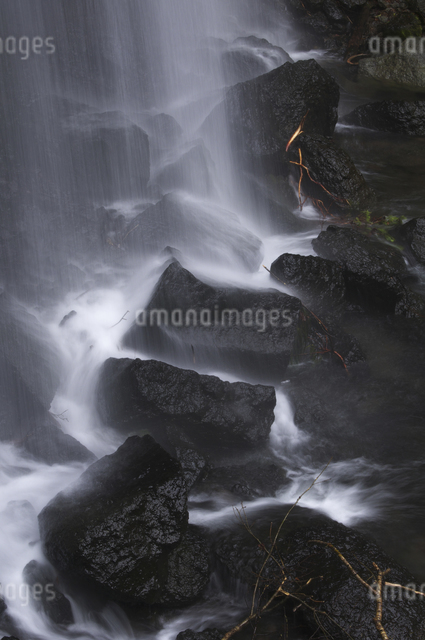 達沢不動滝の写真素材 [FYI04120342]