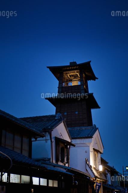 時の鐘(川越)の写真素材 [FYI04120434]